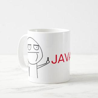 Taza del café de los programadores de Java del