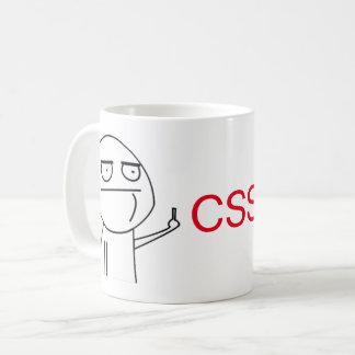 Taza del café de los programadores del CSS del
