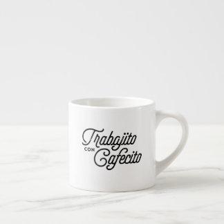 Taza del café express de Cafecito de la estafa de
