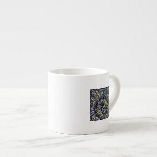Taza del café express de Shell de la acuarela Taza Espresso
