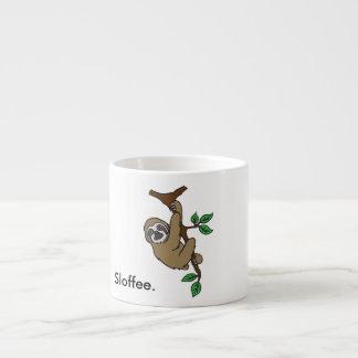 Taza del café express de Sloffee