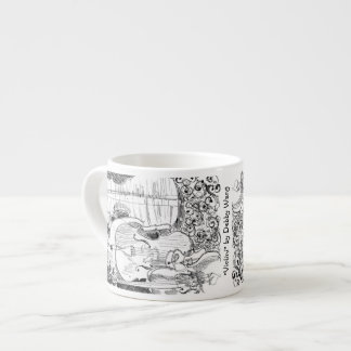 Taza del café express de Violini de Debby Wang