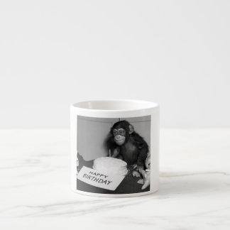 Taza del café express del feliz cumpleaños