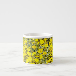 Taza del café express del Wildflower