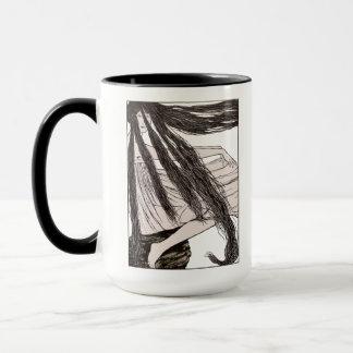 Taza del Café-Té de los Tresses