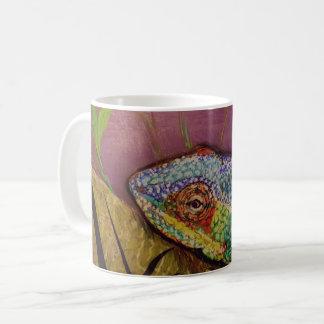 Taza del camaleón con las ilustraciones originales
