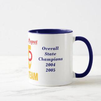 Taza del campeonato del equipo de la matemáticas
