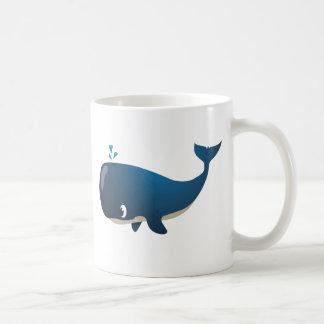 """Taza del carácter de la ballena del """"pequeño del"""