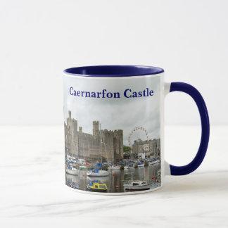 Taza del castillo de Caernarfon