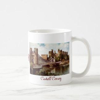 Taza del castillo de Conwy
