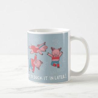 Taza del cerdo