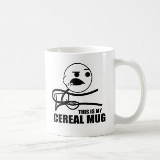 Taza del cereal