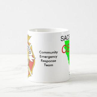 Taza del CERT de Sacramento