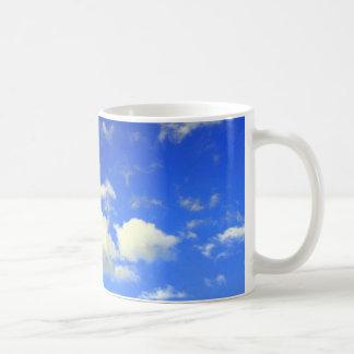 Taza del cielo azul de Carolina
