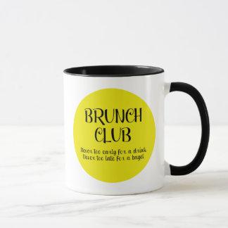 Taza del CLUB del BRUNCH