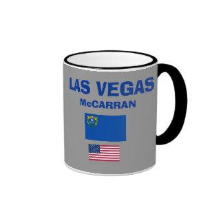 Taza del código del aeropuerto de LAS Las Vegas