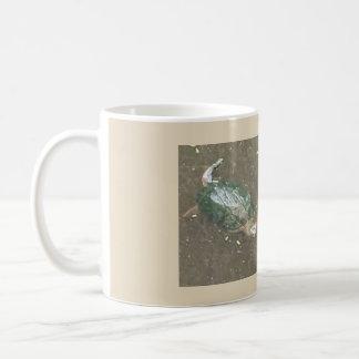 taza del coffe de la tortuga
