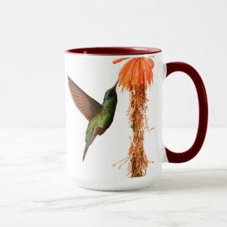 Taza del colibrí