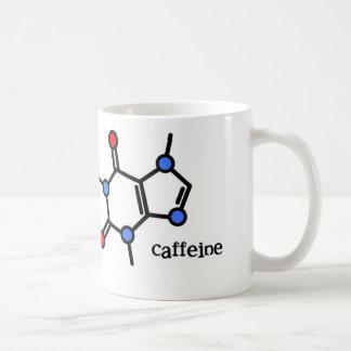taza del color del cafeína