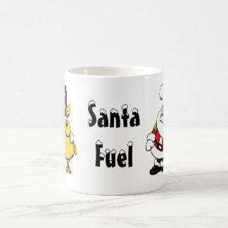 Taza del combustible de Santa