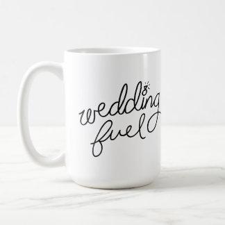 Taza del combustible del boda