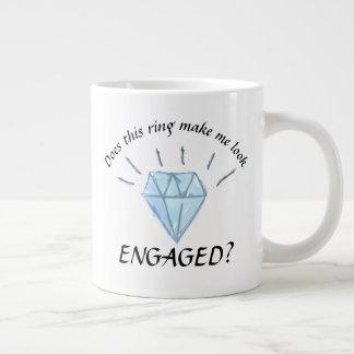 Taza del compromiso - gráfico del diamante