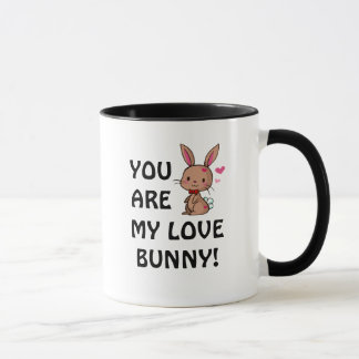 Taza del conejito del amor (conejito de Brown)