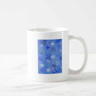 Taza del copo de nieve