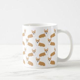 Taza del Corgi - diseño lindo de los corgis