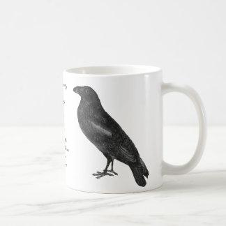 """Taza del """"cuervo"""" de Edgar Allan Poe"""
