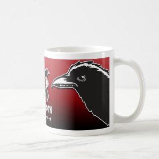 Taza del cuervo del Troth (roja)