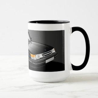 Taza del cupé de Saab 900 Turbo