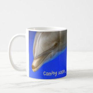 Taza del delfín (día de fiesta) que viene pronto