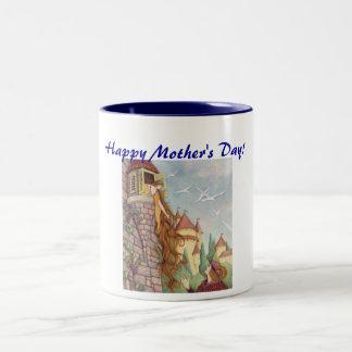 Taza del día de madre de Rapunzel
