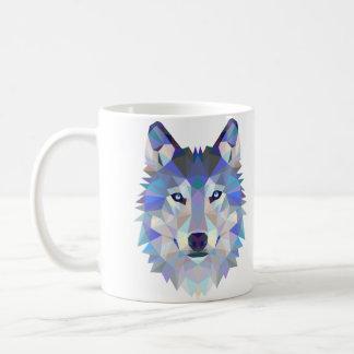 Taza del diseño del lobo