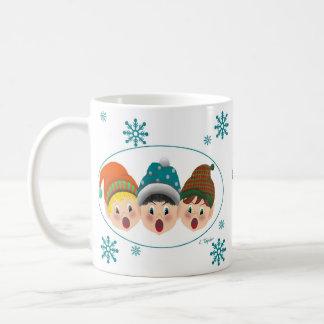 Taza del duende del navidad - no hacen tictac