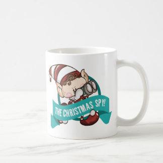 Taza del duende - la taza de café del espía del