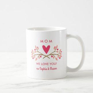 Taza del el día de San Valentín para la mamá de