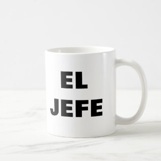 Taza del EL JEFE