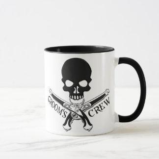 Taza del equipo del novio del pirata