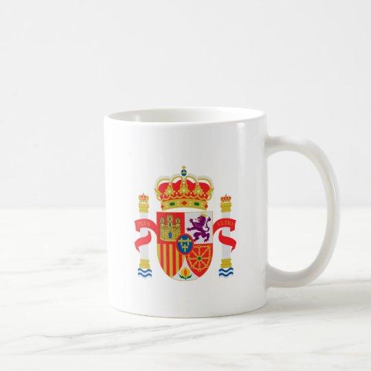Taza del escudo de armas de España