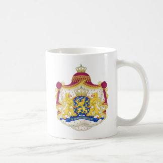 Taza del escudo de armas de Netherland