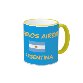 Taza del escudo de Buenos Aires la Argentina