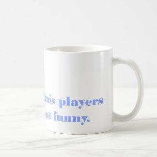 Taza del eslogan (325 ml) - jugadores de tenis