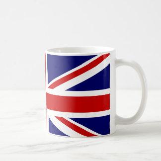 Taza del estándar de Union Jack