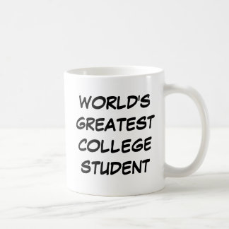 """""""Taza del estudiante universitario más grande del"""
