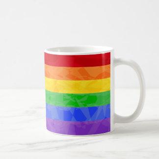 Taza del fractal del zigzag del arco iris