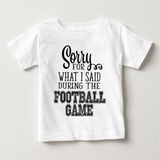 Taza del fútbol camiseta de bebé