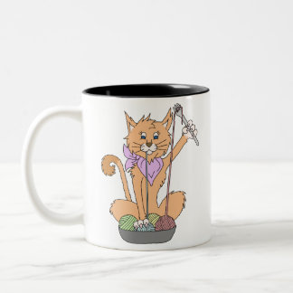 Taza del gato de Yarnivore