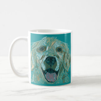 Taza del golden retriever